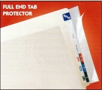 "Buy Name Label - Full Tab Label Protectors, 8"" x 2"" (Box of 500)"