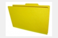 "Type I  Pressboard Folders, Top Tab,  Legal Size, 2"" Tyvek Exp., No Dividers, Fasteners Pos. 1 & 3 (Box of 25)"