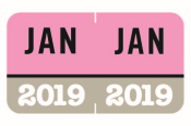 Month Year Labels