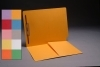 14 pt Color Folders, Full Cut End Tab, Letter Size, 1/2 Pocket Inside Front, Fastener Pos. 1 (Box of 50)