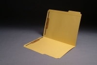 11 pt Color Folders, 1/3 Cut Top Tab - Assorted, Letter Size, Fasteners Pos. 1 & 3 (Box of 50)