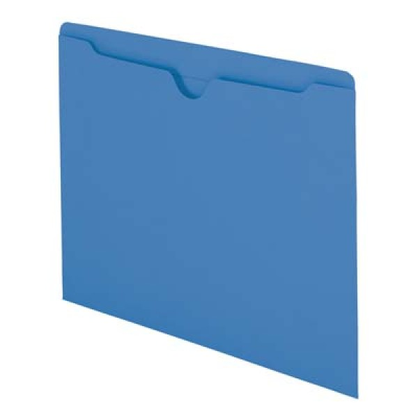 11 pt Pocket Folder - Color, Top Tab, Letter (Box of 100)