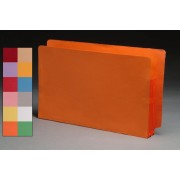 Color Full End Tab Expanding Files, Tyvek Color Gussets, Legal Size, 3-1/2