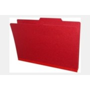 Type II  Pressboard Folders, Top Tab, Legal Size, 2