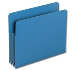 SMEAD Poly File Pockets (Colors), 3 1/2