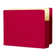 Color Full End Tab Expanding Files, Tyvek Color Gussets, Legal Size, 1-3/4