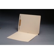 11 pt Manila Folders, Full Cut 2-Ply End Tab, Letter Size, Fastener Pos. 1 (Box of 50)