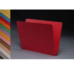 11 pt  Color Folders, Full Cut 2-Ply End Tab,  Letter Size (Box of 100)