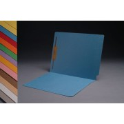 11 pt  Color Folders, Full Cut 2-Ply End Tab,  Letter Size, Fastener Pos. 1 (Box of 50)