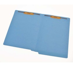 14 pt  Color Folders, Full Cut 2-Ply End Tab, Legal Size, Fasteners Pos. 1 & 3 (Box of 50)