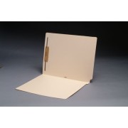 14 pt Manila Folders, Full Cut 2-Ply End Tab, Letter Size, Fastener Pos. 1 (Box of 50)