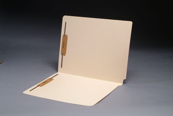 14 pt Manila Folders, Full Cut 2-Ply End Tab, Letter Size, Fasteners Pos. 1 & 3 (Box of 50)