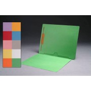 11 pt Color Folders, Full Cut End Tab, Letter Size, Full Back Pocket, Fastener Pos. 1 (Box of 50)