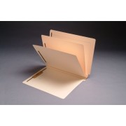 14 Pt. Manila Classification Folders, End Tab, Letter, 2 Dividers, Fasteners Pos. 1 & 3 (Box of 15)