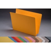 14 pt Color Folders, Full Cut 2-Ply End Tab, Letter Size, 1-1/2