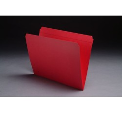 11 pt Color Folders, Full Cut Reinforced Top Tab, Letter Size (Box of 100)