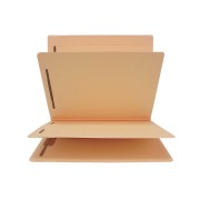 14 Pt. Manila Classification Folders, Full Cut Top Tab, Letter, 2 Dividers (Box of 15)