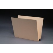 14 pt Manila Folders, End/Top Interlock Tab, Letter Size, 1-1/2