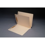 11 Pt. Manila Classification Folders, End Tab, Letter, 1 Divider, Fasteners Pos. 1 & 3 (Box of 40)
