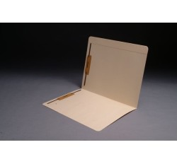 14 pt Manila Folders, Full Cut Reinforced Top Tab, Letter Size, Fasteners Pos. 1 & 3 (Box of...