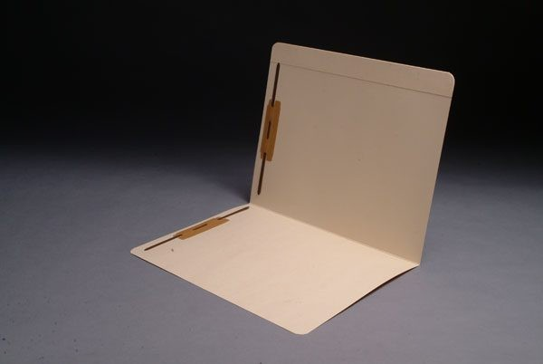 14 pt Manila Folders, Full Cut Reinforced Top Tab, Letter Size, Fasteners Pos. 1 & 3 (Box of 50)