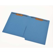 11 pt Color Folders, Full Cut End Tab, Letter Size, 1/2 Pocket Inside Front, Fastener Pos. 1 & 3 (Box of 50)