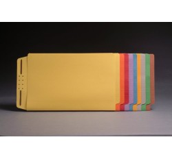 End Tab Color Casebinders, Legal Size, Full Cut Tabs (Box of 50)