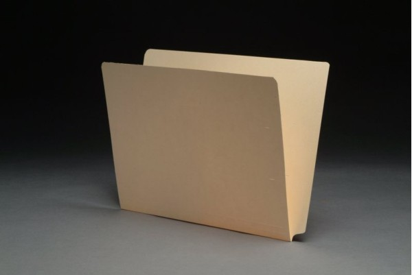 11 pt  Manila Folders, Drop Front, Letter Size (Box of 100)