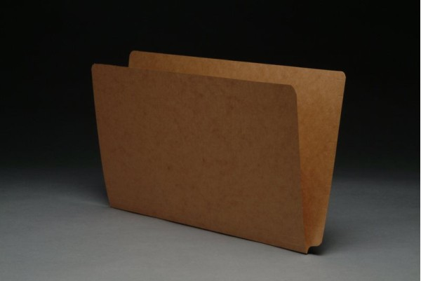 17 pt Kraft Folders, Full Cut End Tab, Legal Size, Drop Front (Box of 50)