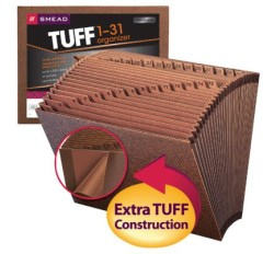 Smead 70467 TUFF Expanding File, Daily (1-31), 31 Pockets, 12