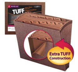 Smead 70488 TUFF Expanding File, Monthly (Jan.-Dec.), 12 Pockets, 12