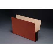 Shelf Tab Expanding Files, Tyvek Color Gussets, Legal Size, 3-1/2