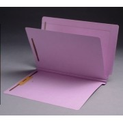 14 Pt. Color Classification Folders, Full Cut End Tab, Letter Size, 1 Divider, 2