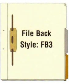 FileBack Side Tabs, Holes on Side