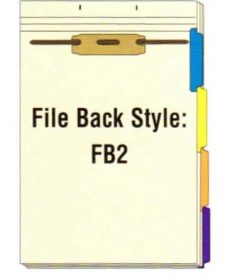 FileBack Side Tabs, Holes on Top