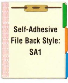 Self Adhesive Side Tabs