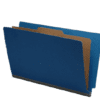 Pressboard Folder with Divider, Legal Size