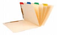 Folder with Divider Sets